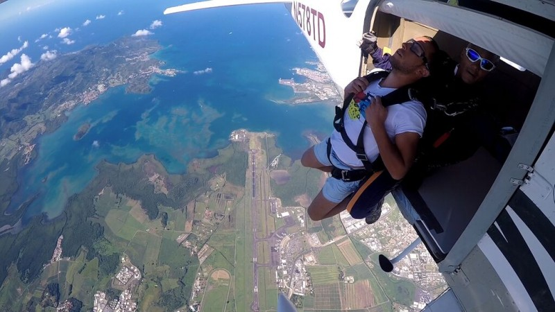sapapaya-martinique-Saut-parachute