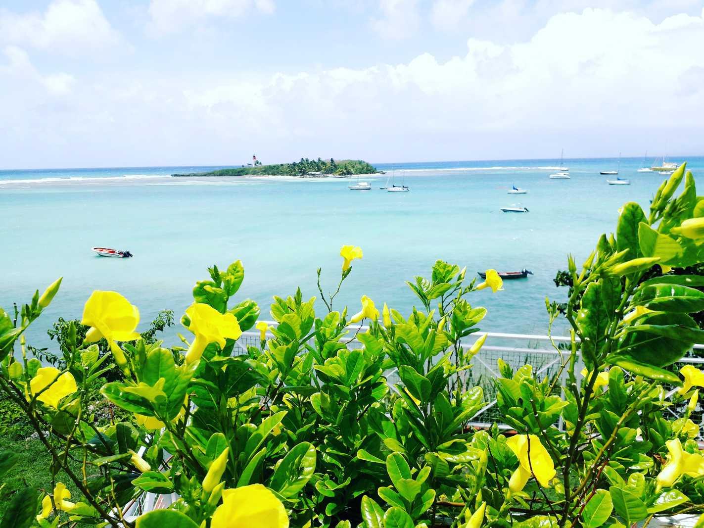 Plage Guadeloupe : îlet du Gosier