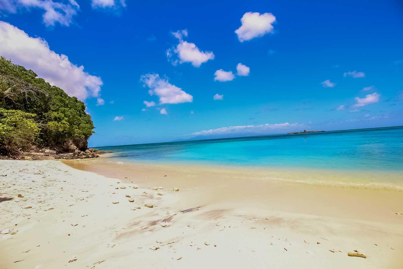 La plage de Moustique