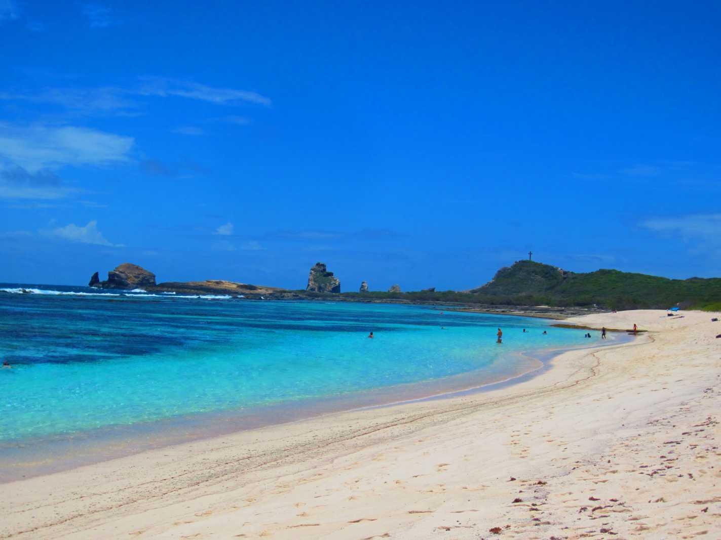 Grande Anse Saline à Saint François