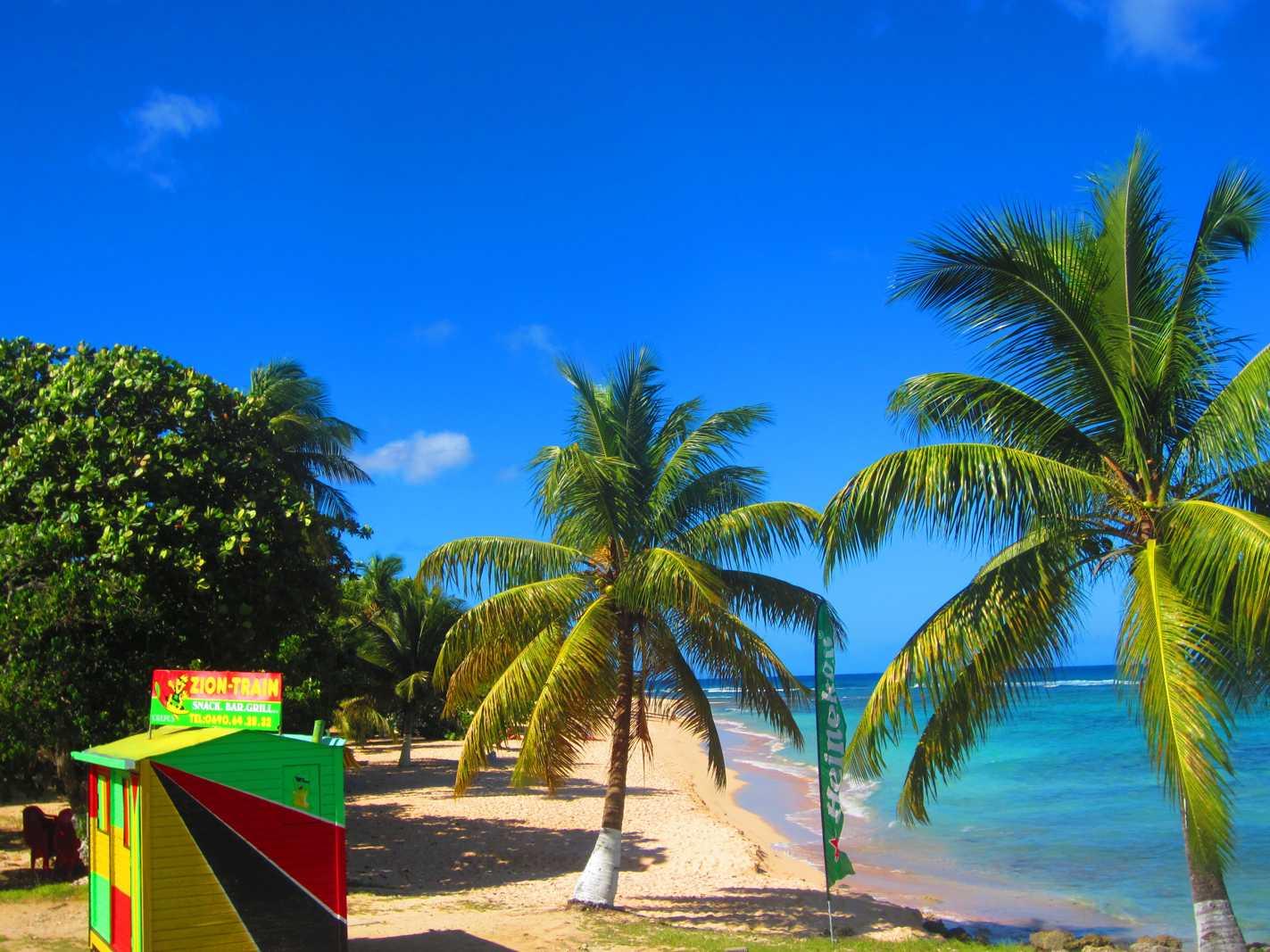 Plage Guadeloupe : Plage de la Chapelle à Anse Bertrand