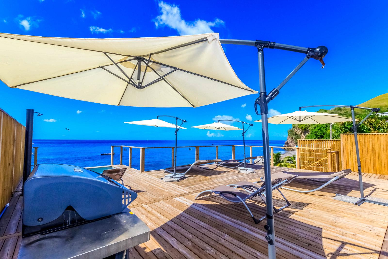 Cuisine Extérieure Location de villas Martinique