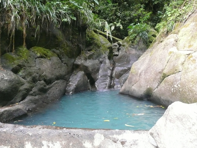 Bassin bleu, Basse-Terre, Guadeloupe