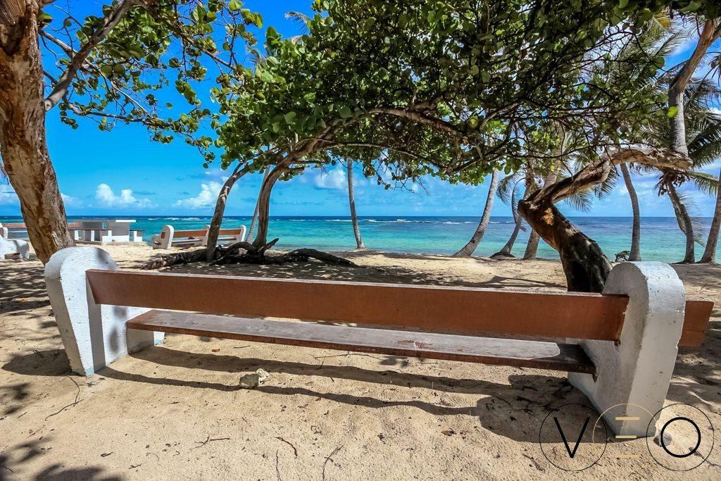 La plage de Petite Anse à Marie-Galante