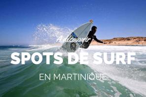 Spot de surf Martinique : les bonnes adresses !