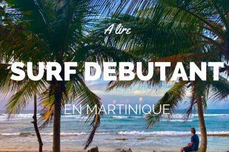 Surf Martinique débutant