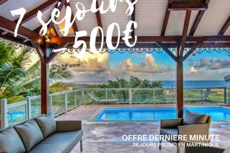 Séjour à moins de 500€ en Martinique
