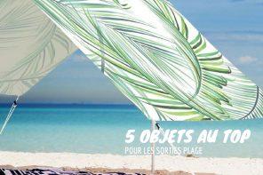 5 objets pratiques pour la plage