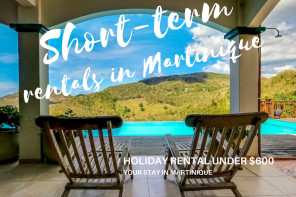 special offers for short term rental in Martinique