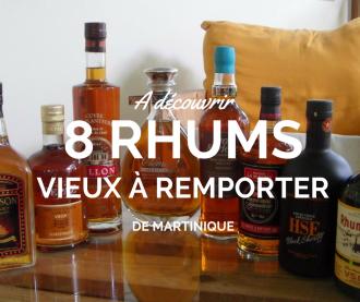 Top des meilleurs rhums vieux Martinique
