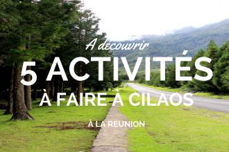 Activités à Cilaos