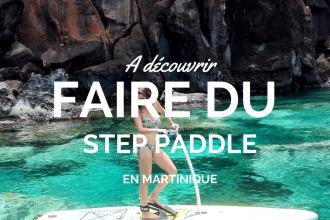CaminAgua, la référence du step paddle en Martinique