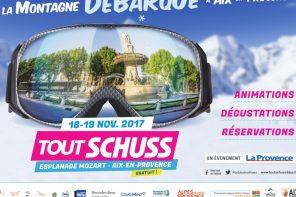 Tout Schuss Days débarque à Aix-en-Provence !