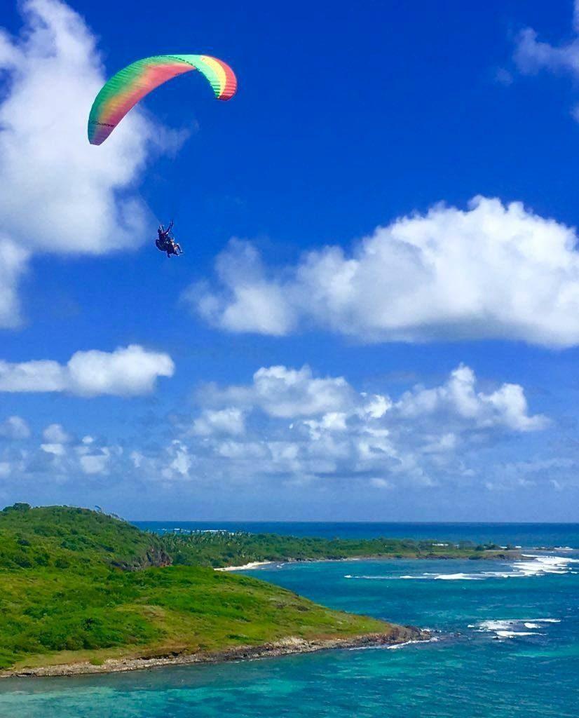 Sublimes paysages de Martinique depuis le ciel