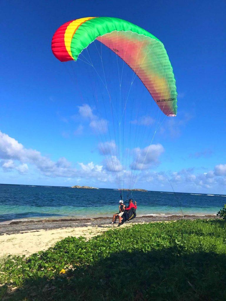 Où faire du parapente en Martinique