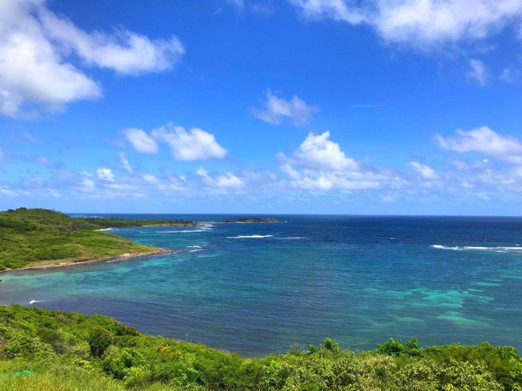 La Martinique vue du ciel en parapente