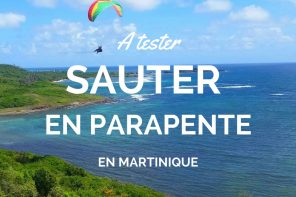 Faire du parapente en Martinique