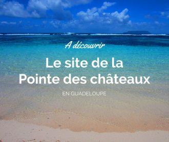 La pointe des chateaux en Guadeloupe