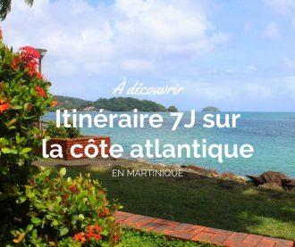 Découvrir la côte atlantique de Martinique