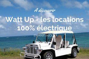 Testez Watt Up location de véhicules électriques en Martinique