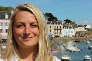 5 questions à Anne-Sophie, femme entrepreneure en Bretagne.