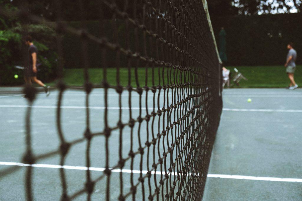 Filet de court de tennis