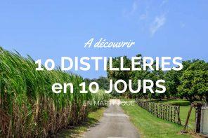 Séjour 100% rhum en Martinique : 10 distilleries en 10 jours