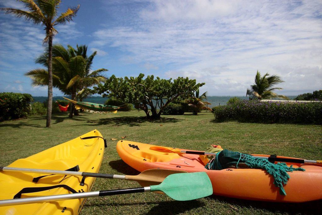 mise à disposition de kayak en location saisonnière