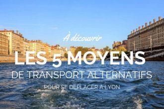 Se déplacer à Lyon : 5 idées de transport
