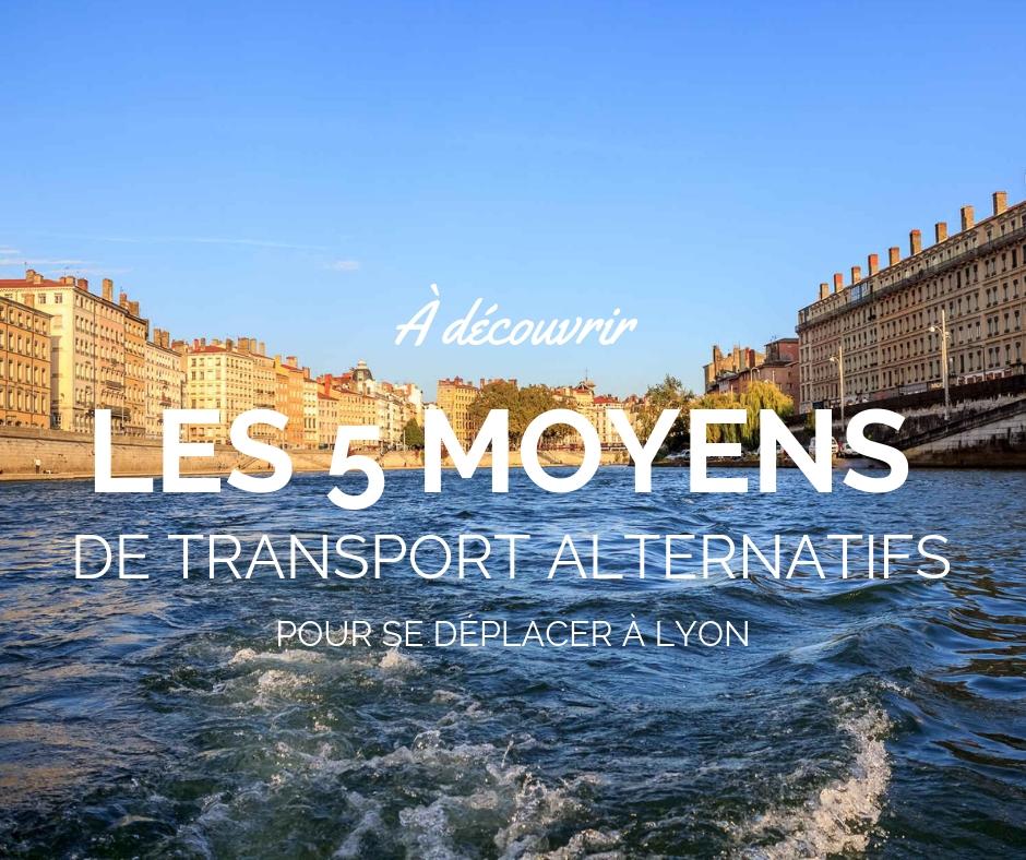 Se d placer lyon 5 moyens de transport alternatifs - Le comptoir de mathilde lyon ...