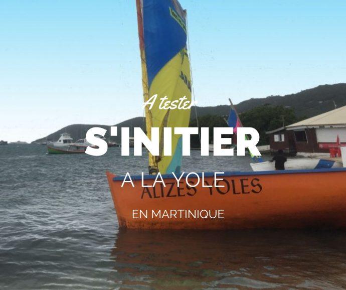 S'initier à la yole en Martinique