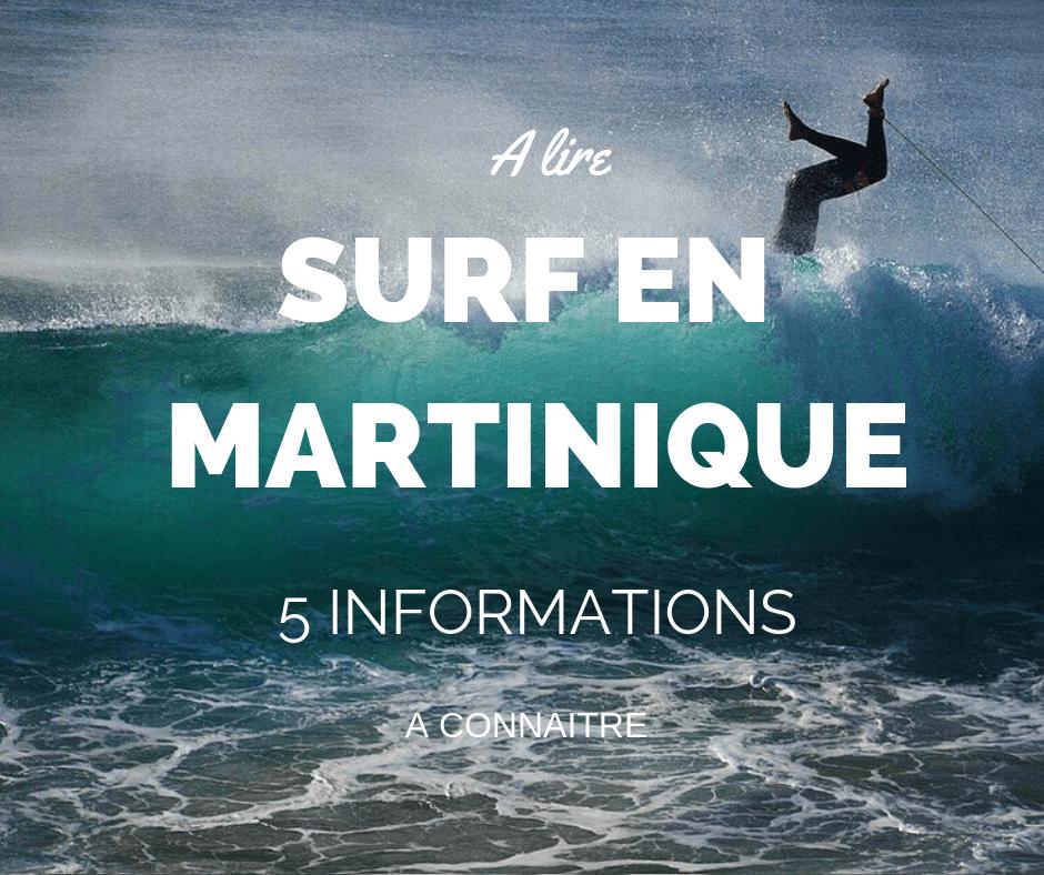 Surf en Martinique: 5 informations à connaître