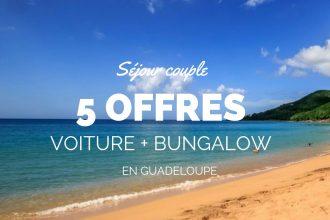 séjour en Guadeloupe avec location voiture