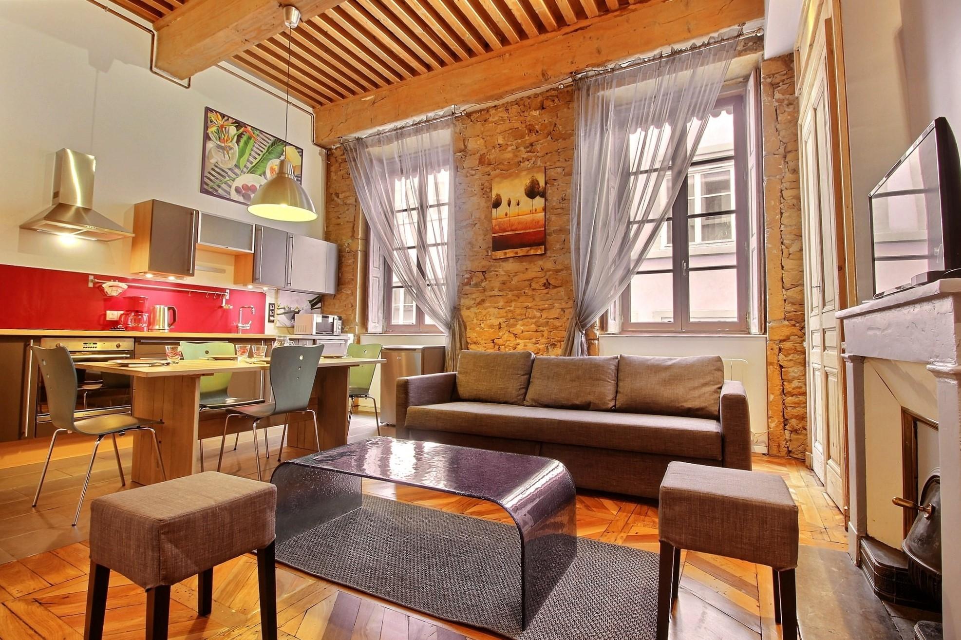 appartement qualité presquîle lyon