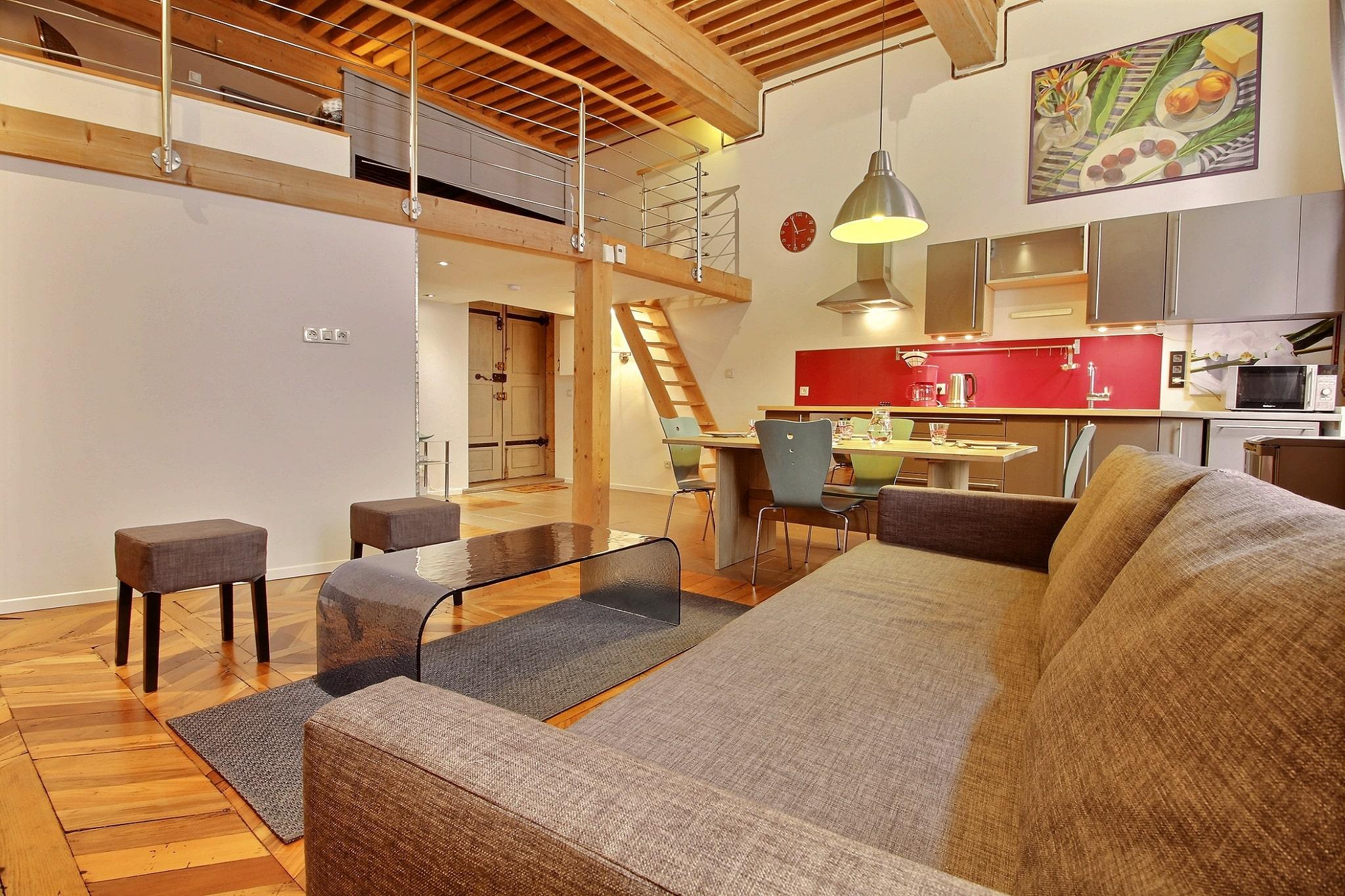 appartement location courte durée lyon